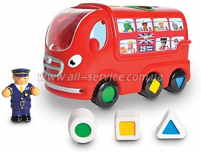 Игрушка WOW TOYS London Bus Leo Автобус Лео (10720)